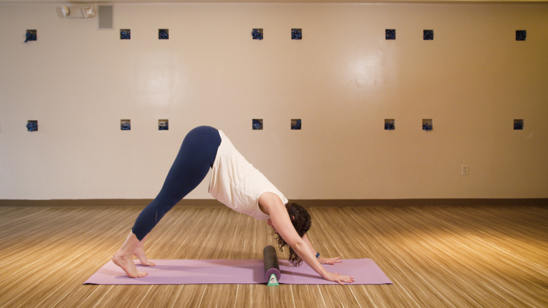 Using the YFR Large in Downward Facing Dog